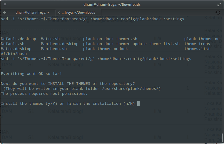 Plank Themer-Change Plank Theme in GUI mode, how to install it on
