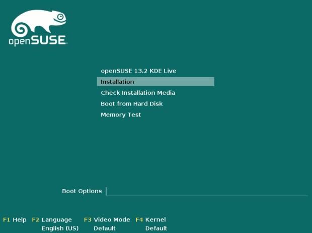 opensuse 13.2 beta 1 installation