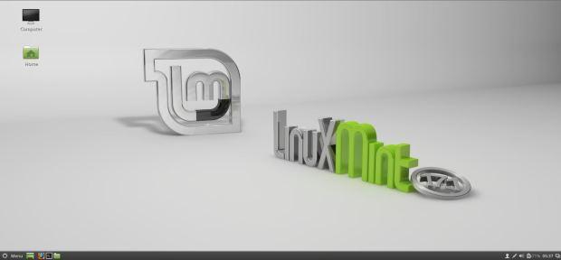 linux mint 17.1 default desktop