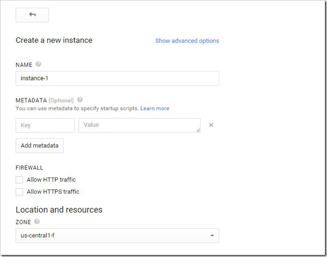 create new vm instance on google cloud platform 2