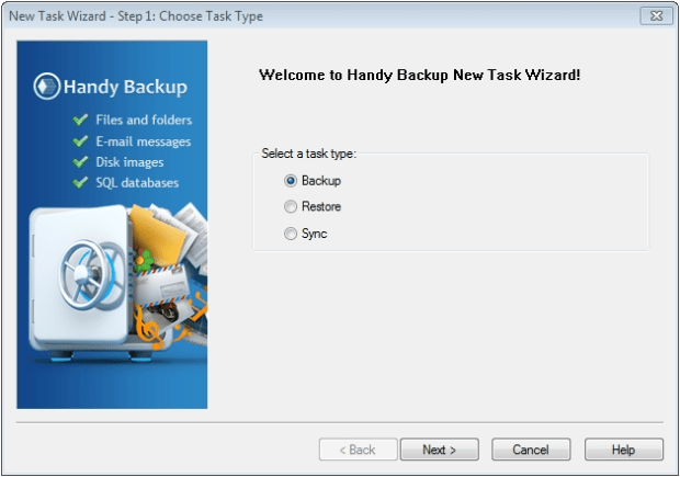 handy backup free download