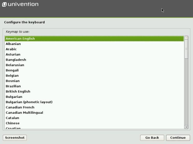 Univention Corporate Server install 5