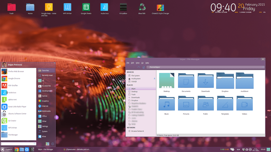 ChaletOS, a beautiful, lightweight Linux distribution you