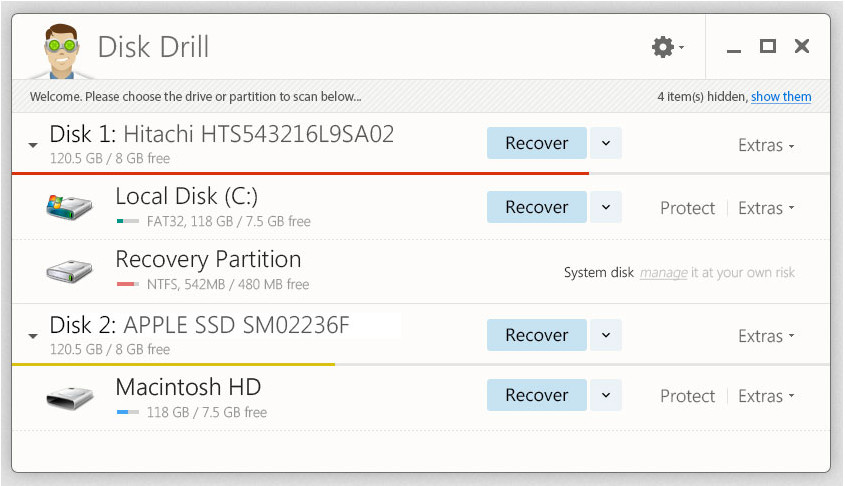 Disk Drill 1 0, free file recovery software for Windows