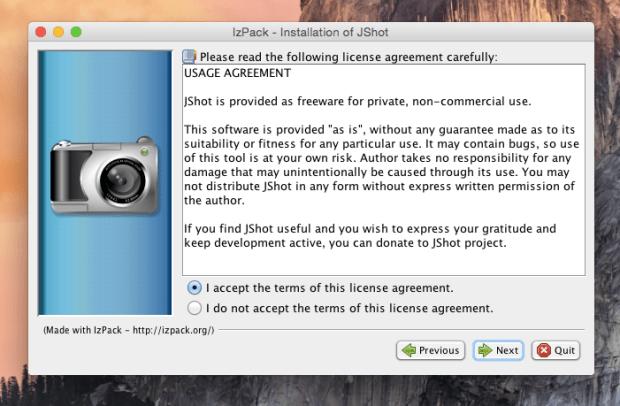 jshot install 3