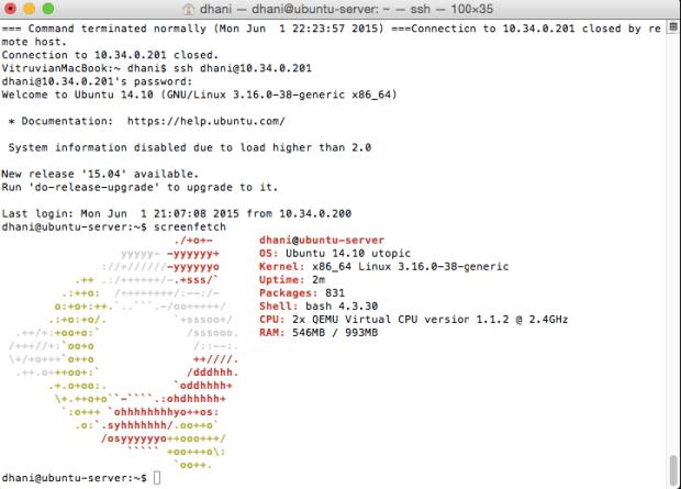 upgrade to ubuntu 14.10 server