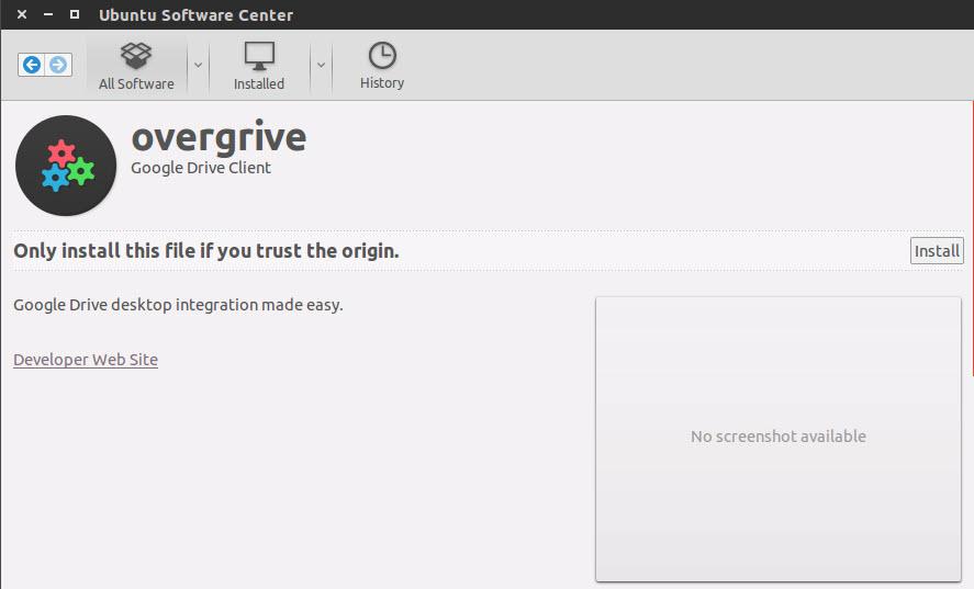 Install OverGrive on Ubuntu 14 04 and Ubuntu 15 04 - Tutorial and