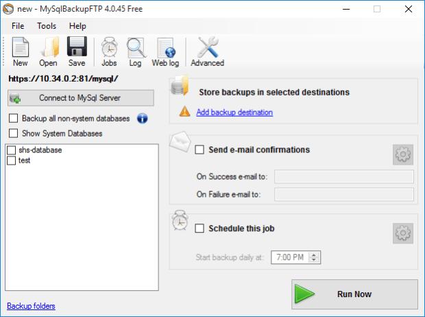 MySQLBackupFTP  3