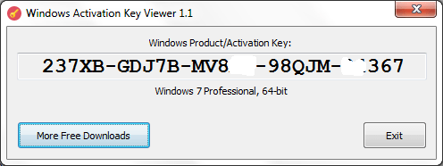 Windows Activation Key Viewer 1 1 - Tutorial and Full