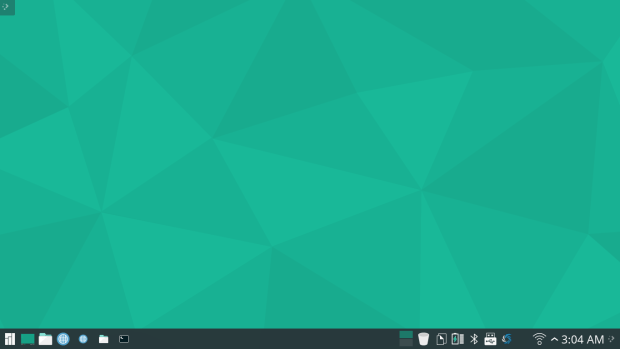 manjaro 15.12 KDE screenshot 1