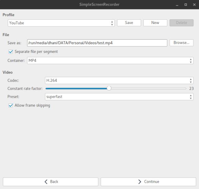 install simple screen recorder manjaro 15.12-3.png