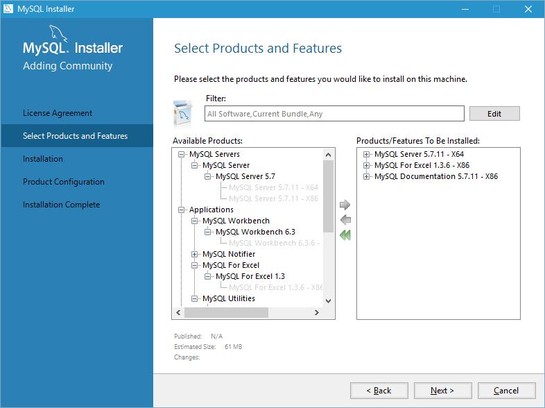 install mysql on windows 10 step 2