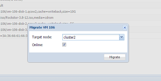 How to migrate VM to another cluster on Proxmox VE - Tutorial and