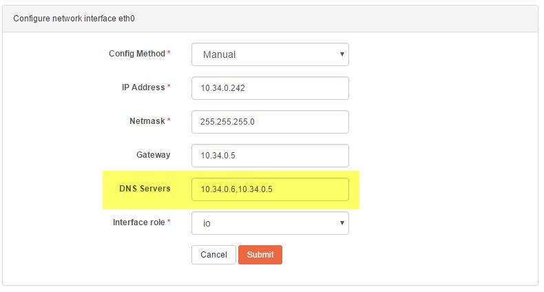 set dns server on rockstor 1.png