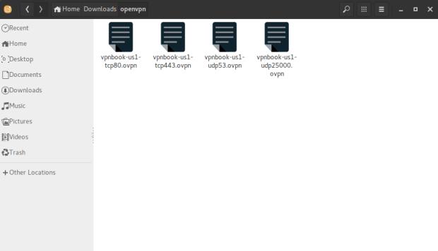 openvpn setting vpnbook