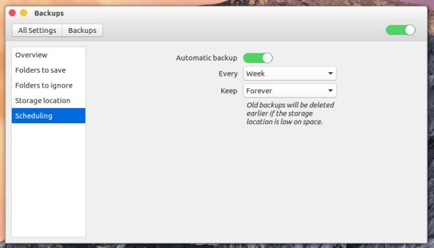 backup scheduling ubuntu