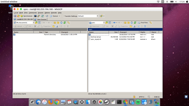 how to install winscp on ubuntu