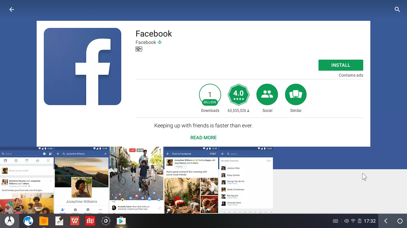 how to connect faceoboook to sume me app