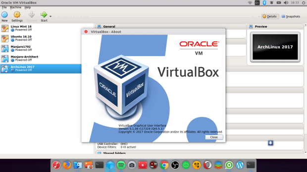 install Virtualbox 5.1.26 on Ubuntu 16.04