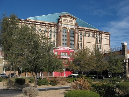Sam's Town is one of the 100 plus casinos in Las Vegas