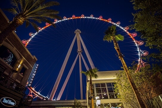 High Roller Ticket Prices are fairly reasonable