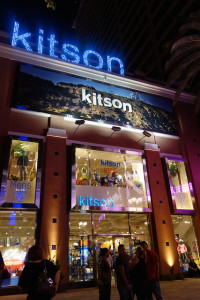Kitson is one of the more popular stores at the Linq Promenade