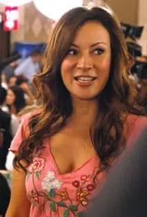 Phil Laak's Girlfriend, Jennifer Tilly, at the WSOP