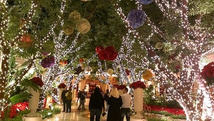 The Wynn goes all out during Christmas