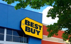 The closest Best Buy to the Las Vegas Strip is about 10 minutes away