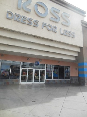 Here's the north Las Vegas Strip Ross store