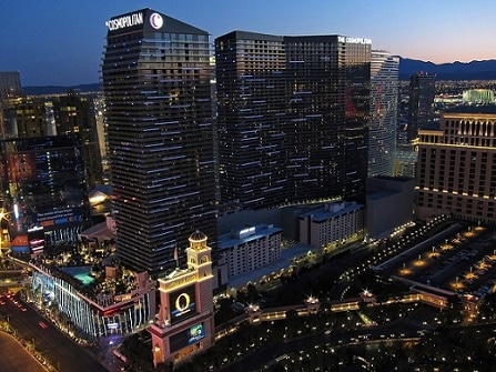 The Cosmopolitan in Las Vegas has parking for 3,800 vehicles