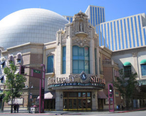 The Silver Legacy is the 2nd Largest Casino in Reno, NV.