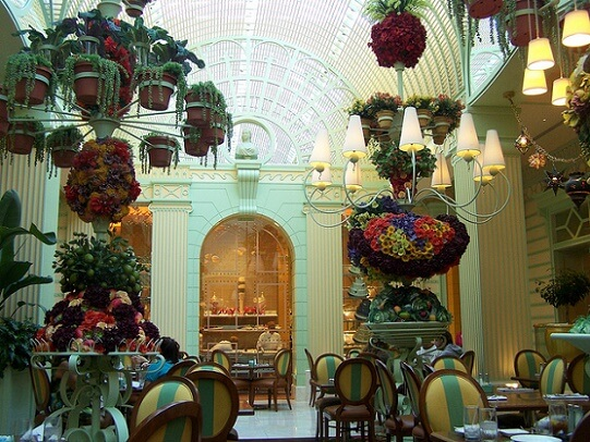 The Buffet at the Wynn is one of the prettiest in Las Vegas
