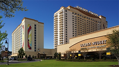 The Golden Nugget in Lake Charles is one of the closest casinos to San Antonio