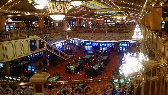 Inside the Ameristar - one of 6 casinos in the Kansas City area