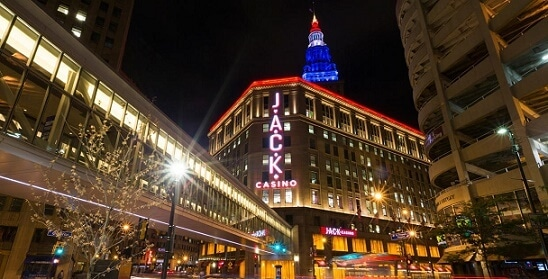 Jack Casino is right in downtown Cleveland