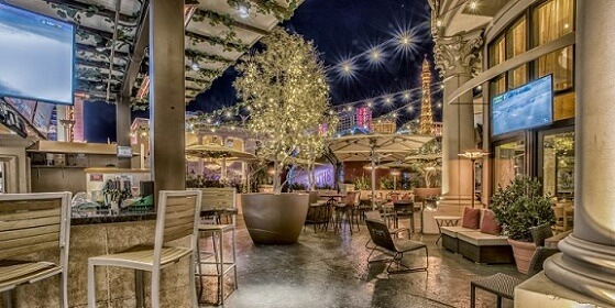Cafe Americano's patio