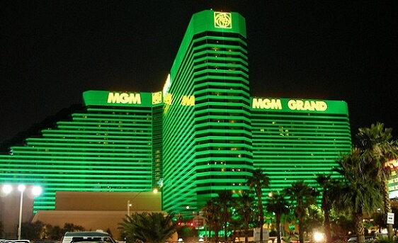 The MGM Grand is the largest hotel in Las Vegas