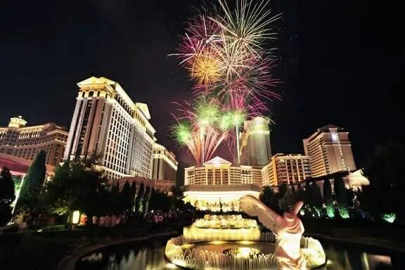 caesars palace las vegas casino hosts