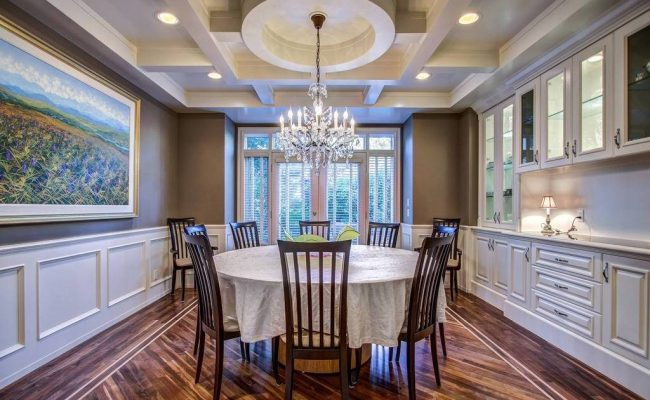 Finish Carpentry Crown Molding Wainscoting Coffered