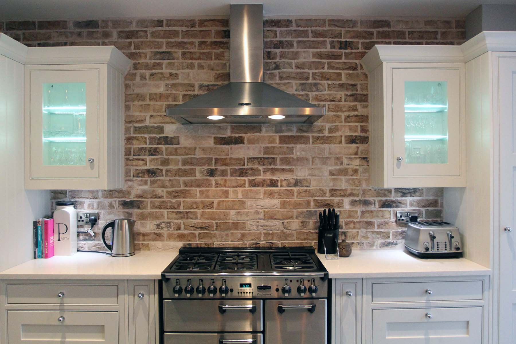 Red Brick In The Kitchen Gambrick
