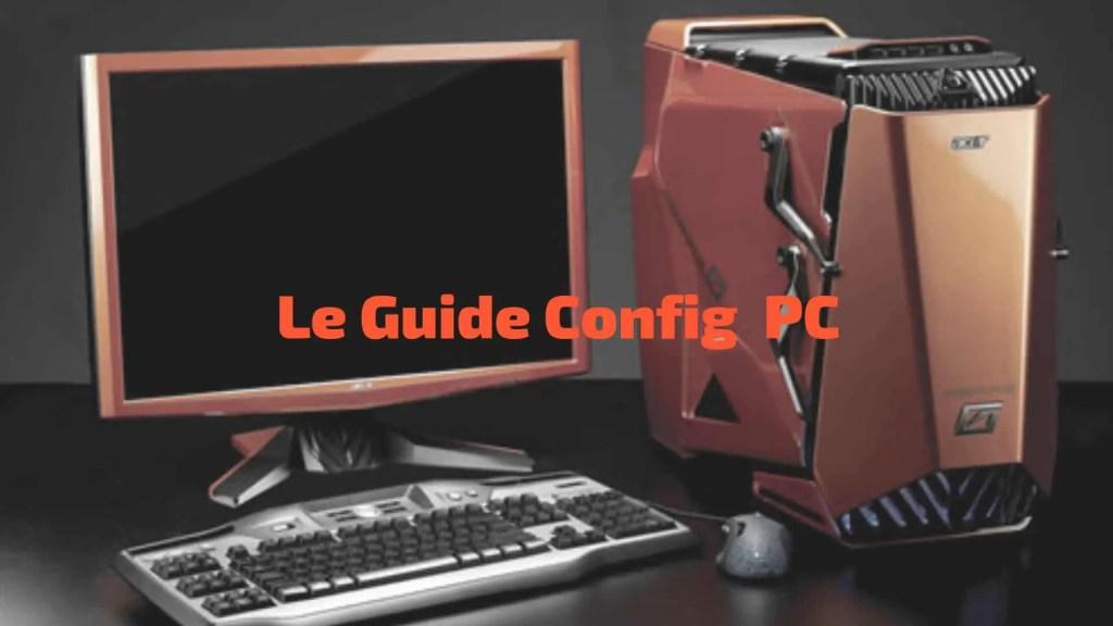 Guide configuration PC 2019