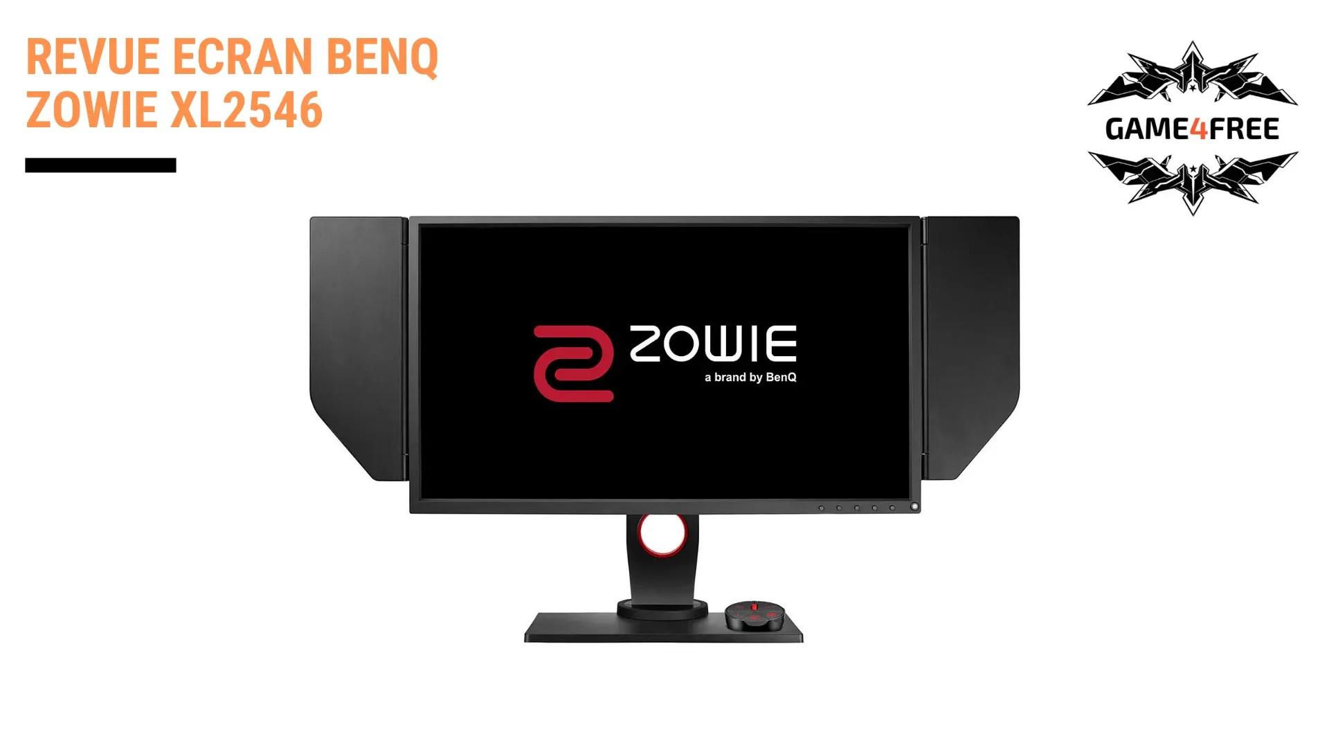 Revue de l'écran BenQ Zowie XL2546