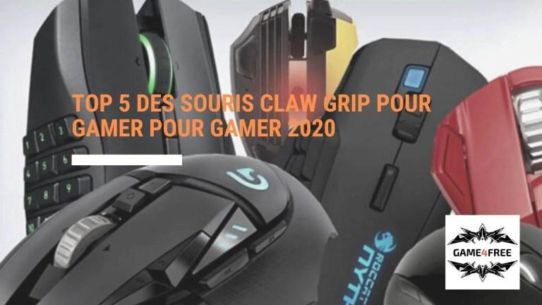 Top 5 des souris claw grip pour gamer