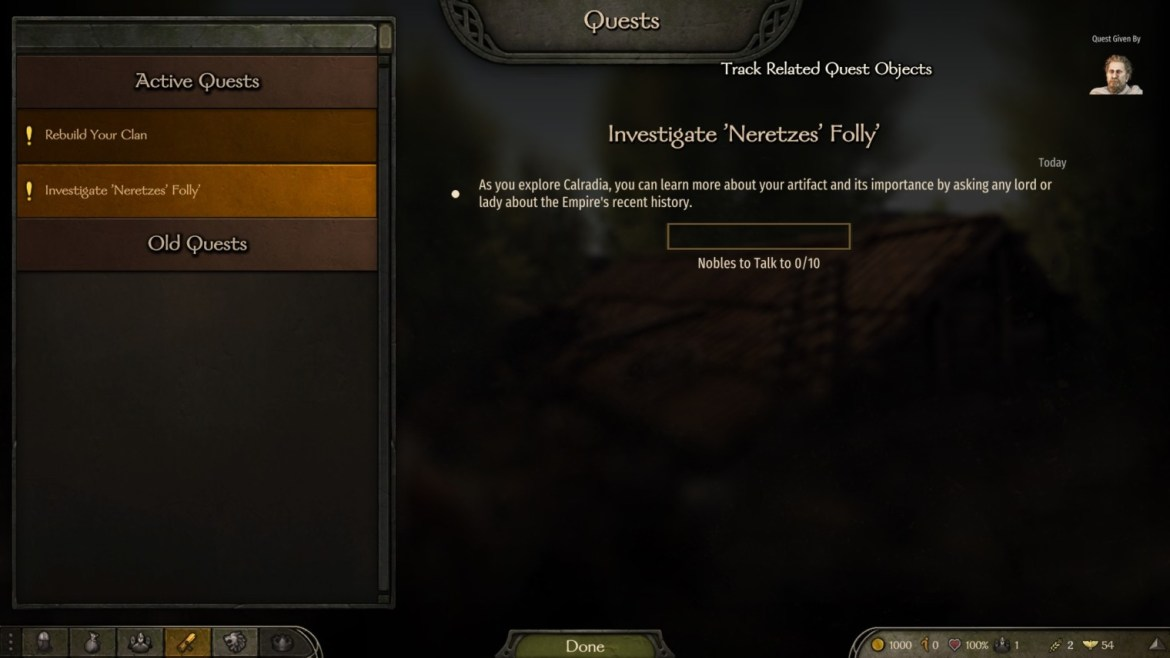 Bannerlord quest