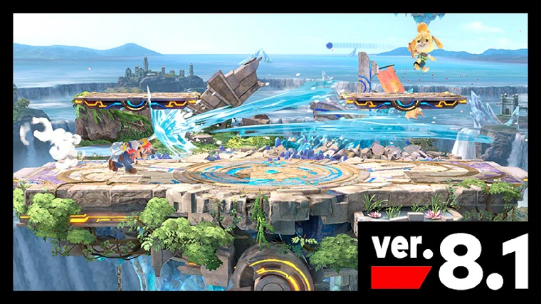 """Nintendo drops """"Smash"""" Update and New Stage"""