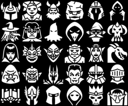 29 Medieval Fantasy Characters Icons Game Icons Net