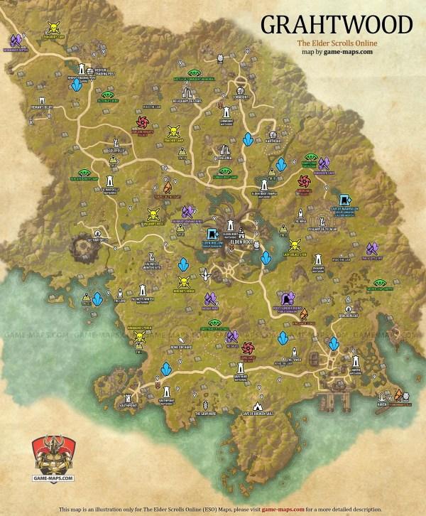 Elder Scrolls Online World Map Imgurl