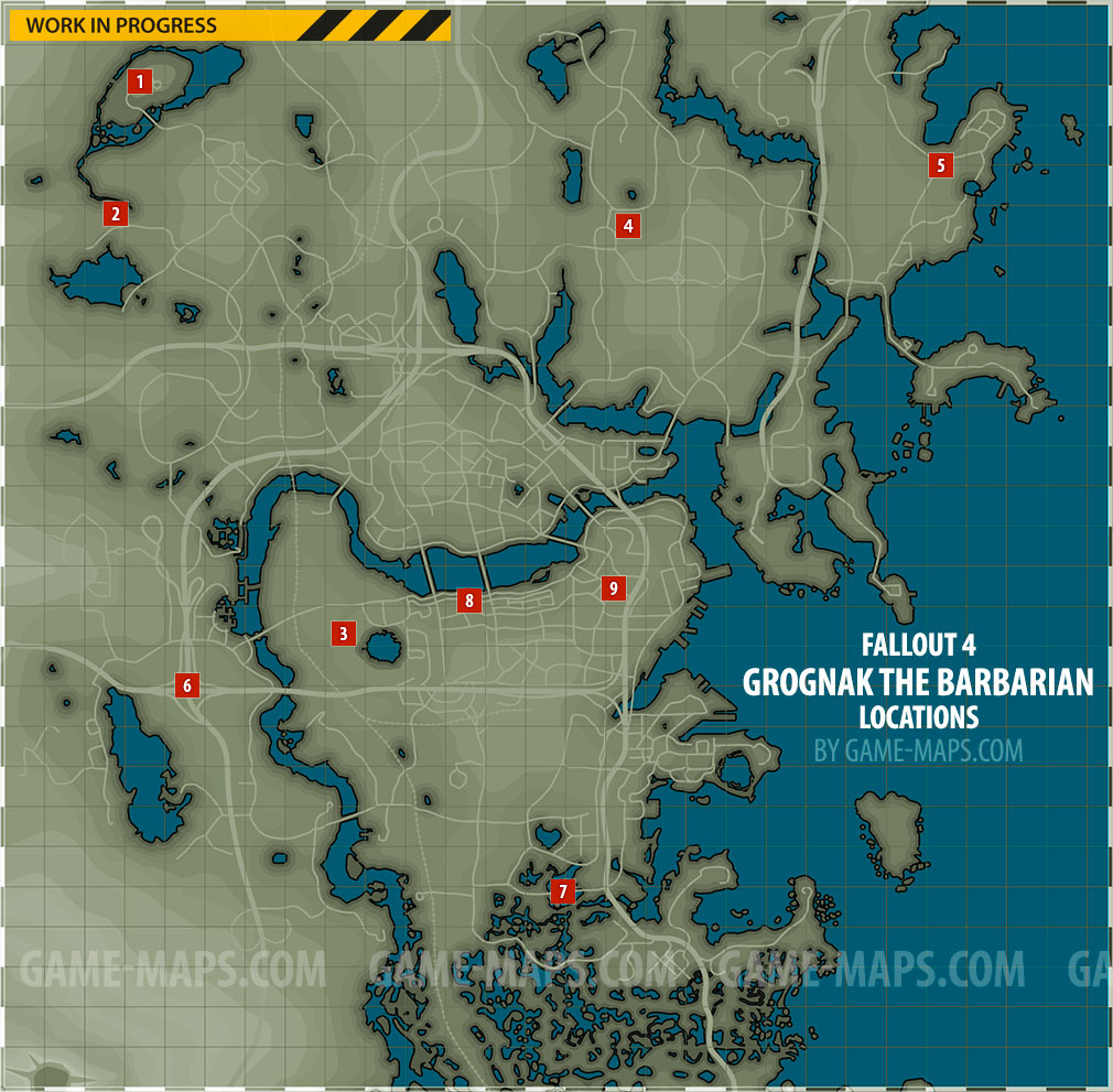 Grognak The Barbarian Magazine Locations In Fallout 4