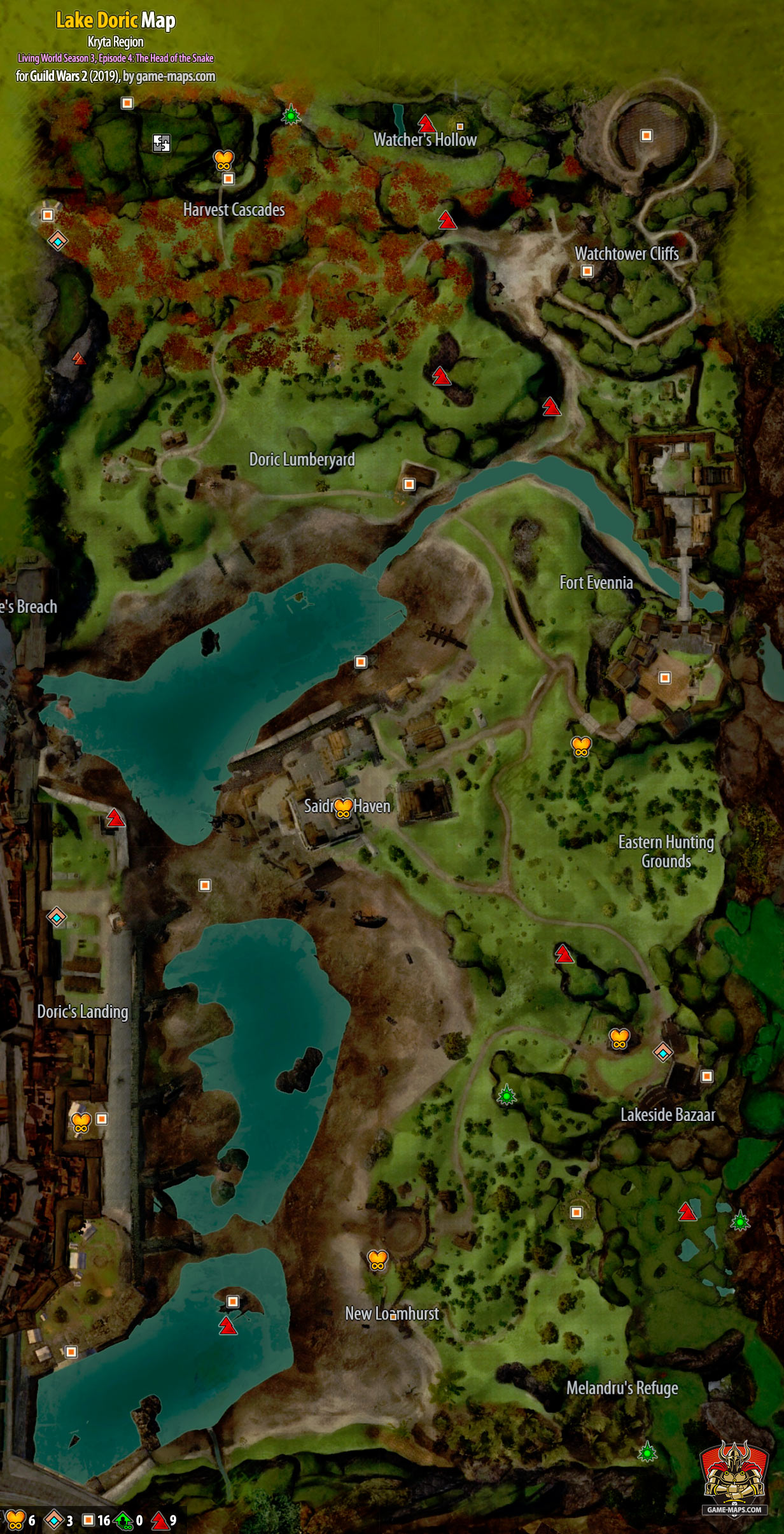 Gw2 Path Of Fire Mastery Points : mastery, points, Doric, (2019)-, Guild, Game-maps.com